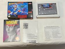 Super Nintendo SNES Mega Man X In Box No Manual Japan