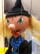 Pelham puppets  Witch  hand  made in England  1948  to 1950s