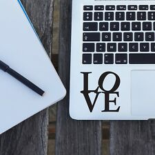 "LOVE Apple MacBook Decal Sticker fits 11"" 12"" 13"" 15"" and 17"" models"