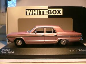 EXTREMELY RARE NEW WHITEBOX 1/43 SCALE 1966 DODGE DART SALOON SUPERB DETAIL NLA