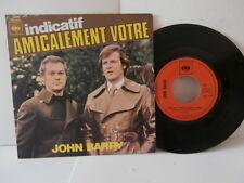 """john barry""""indicatif""""amicalement votre""""single7""""fr.cbs:7469.de 1975"""