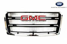 2010-2015 GMC Terrain Front Grille 22765590 Chrome w/ GMC Emblem Genuine OEM GM
