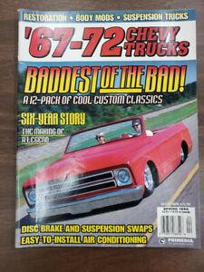 67-72 CHEVY TRUCKS MAGAZINE SPRING 1999