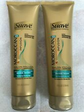 Lot of 2 Suave Professionals Moroccan Infusion Deep Conditioning Shine Mask 8 Oz