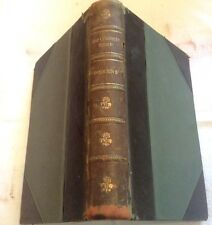 Charles Dickens The Old Curiosity Shop Leather Bound Circa 1865-1867