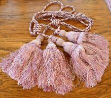 New large double tassel curtain tie backs French Chic