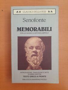 SENOFONTE 1997 RIZZOLI Memorabili