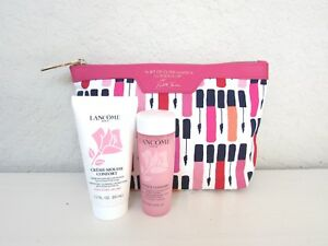2PC Lancome Creme Mousse Confort w/Rose Cleanser & Tonique Comforting Toner 50ML