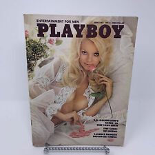 Playboy Magazine February 1974 Clint Eastwood Interview