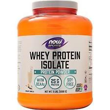 Now Whey Protein Isolate Creamy Vanilla 5 lbs