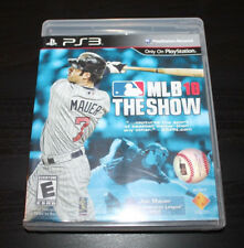 MLB 10: The Show (Sony PlayStation 3, 2010) PS3 GAME COMPLETE MAUER BASEBALL