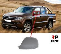 FOR VW VOLKSWAGEN AMAROK 10-18 NEW WING MIRROR COVER CAP PRIMED LEFT N/S