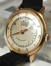 Solid 18k Gold MIDO Multifort Datometer Grand Luxe Super-Automatic