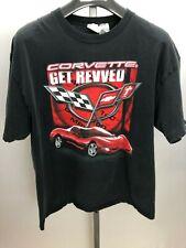 "2005 Racing Champions Corvette ""Get Revved"" T-Shirt Mens Size XL"