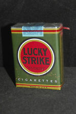 VINTAGE LUCKY STRIKE,1942 (Last Green) CIGARETTE PACK   wz-qm prop