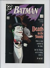 Batman #429 NM- 9.2/9.4 Death in the Family 4 Joker