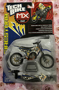 Vintage 2001 Toy Metal Mulisha MX G2 TECH BIKE Freestyle Motocross Firestorm