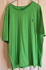 Polo Ralph Lauren T Shirt XL Green Purple Pony