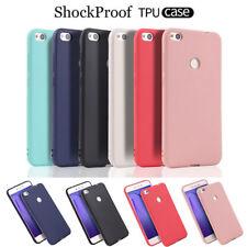 For Huawei P9 Lite Mini Ultra Slim Soft Silicone Skin Matte Case TPU Phone Cover