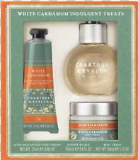 Crabtree & Evelyn White Cardamom Indulgent Treats Gift Set Hand Cream Shower Gel