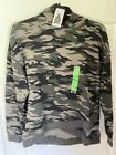 SEVEN PREMIUM BUILT IN  MASK HOODIE WOMAN SIZE LARGE CAMO