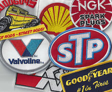 Grab Bag of 5 Racing Patches for Uniform Cap New NHRA NASCAR from  US Seller