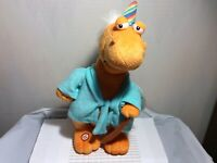 HALLMARK BIRTHDAY OLD-A-SAURUS PLUSH NEW WITH TAG WITH SOUND & MOTION