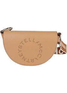 AUTH NWT $730 Stella McCartney Marlee Perforated Logo  Faux Leather Shoulder Bag