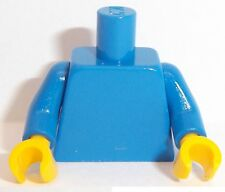 Lego Blue Torso x 1 with Yellow Hands for Miinifigure