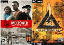 undercover operation wintersun & delta force 2   new&sealed
