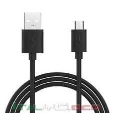 Cavo Micro USB Nero Carica e Dati per Samsung Galaxy J2 / J3 / J5/ J7 / J7 Prime