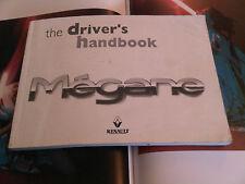 Renault Megane Owners Handbook Instruction Manual Guide 1998 Petrol Diesel