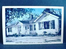 Postcard SC Tamassee Mabel Clay Memorial Cottage DAR School For Girls