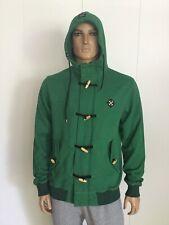 10 Deep Full Zip Men's Hoodie Jacket Size L