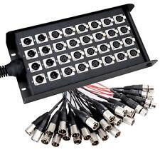 36401 Pronomic Scène EMC 24/8 XLR Multi-coeurs 30 Mètres