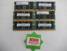 6GB (6X1GB) PC2-5300 2xR8 DDR2 RAM Memory For Laptop