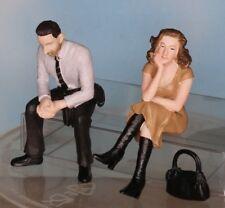 Bachmann Scenecraft 22-194, Spur G / Maßstab 1:22,5, Mann und Frau, sitzend