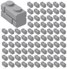 ☀️100x NEW LEGO 1x2 LIGHT BLUISH GRAY Modified Masonry Profile Bricks 98283 BULK