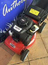 4 Stroke Lawnmower Briggs And Stratton Straight Unleaded Petrol Demo