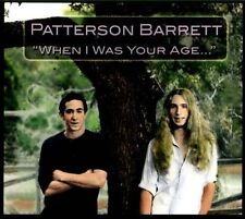 When I Was Your Age... [Digipak] by Patterson Barrett (CD, So'Fish Records) NEW