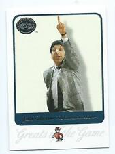 Jim Valvano Jimmy V 2001 01 Greats of the Game North Carolina State NC Coaching