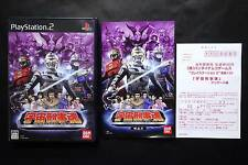 THE SPACE SHERIFF SPIRITS Sony PlayStation2 PS2 JAPAN Very.Good.Condition !