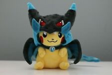 "Pokemon Pikachu Cosplay Mega Charizard 9"" Soft Plush Toy Stuffed Animal Plushie"