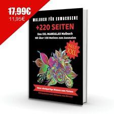 MANDALA Malbuch für Erwachsene Perfekt zur Stressbewältigung & Entspannung - A4