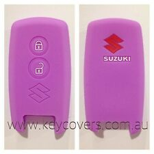 SUZUKI PURPLE CAR SMART KEY SILICONE COVER CASE GRAND VITARA SWIFT SX4 JLX FOB