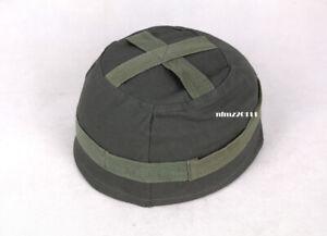 Replica WWII German Fallschirmjager Paratrooper M38 Helmet Cover Grey Color