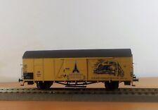 H0 gedeckter Güterwagen Glr 22 DB Ep.III Magirus Brawa 48715
