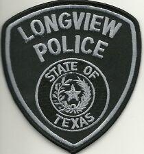 SWAT TEXAS  LONGVIEW  TACTICAL TEAM  Police Patch SEK Polizei Abzeichen Aufnäher