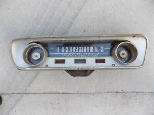 Speedometer Gauge Cluster Instrument Panel Mustang Falcon 64 65 Ford 1964 1965
