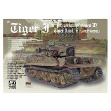 AFV Club AF35079 Tiger I Ausf. E Latest Tank Military Plastic Model Kit 1:35